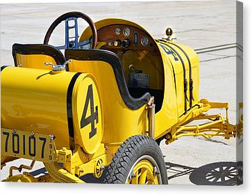 1915 Runabout Racer Canvas Print by Bill Dutting