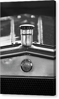 1917 Winton Six-33 Sport Touring Hood Ornament 2 Canvas Print by Jill Reger