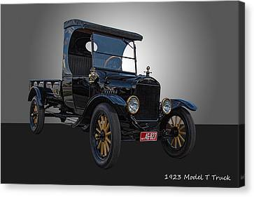 1923 Model T Ford Truck Canvas Print by Nick Gray