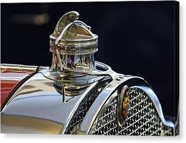1929 Packard 8 Hood Ornament 3 Canvas Print by Jill Reger