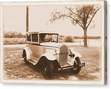 1930s Ford Canvas Print by Danny Jones