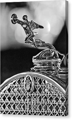 1931 Packard Convertible Victoria Hood Ornament 2 Canvas Print by Jill Reger