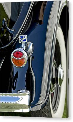 1932 Buick Series 60 Phaeton Taillight Canvas Print by Jill Reger