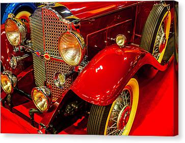 1932 Packard Model 902 Rumble Seat Coupe Canvas Print by Garry Gay