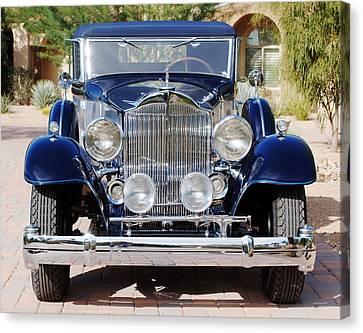 1933 Packard 12 Convertible Coupe Canvas Print by Jill Reger