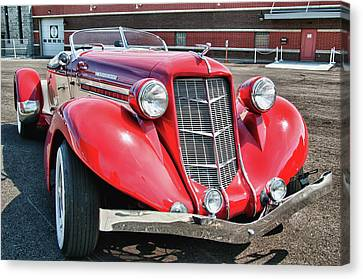 1935 Auburn Speedster 6870 Canvas Print by Guy Whiteley