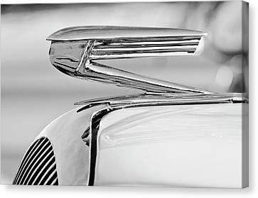 1936 Buick 40 Series Hood Ornament 2 Canvas Print by Jill Reger