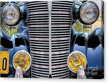 1938 Chevrolet Coupe Canvas Print by Mariola Bitner