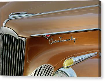 1941 Packard Hood Ornament 2  Canvas Print by Jill Reger