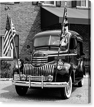1946 Chevrolet Canvas Print by Lois Bryan