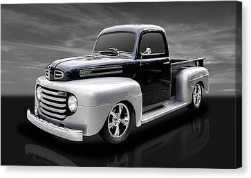 1948 Ford Pickup Canvas Print by Frank J Benz