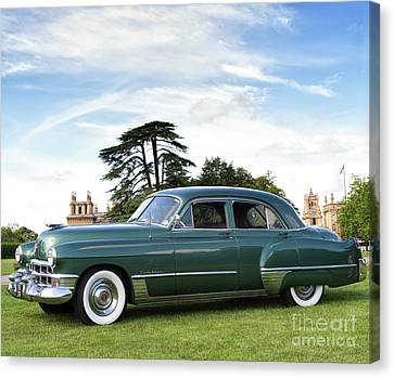 1949 Cadillac Fleetwood Canvas Print by Tim Gainey