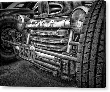 1949 Ford Canvas Print by Larry Marshall
