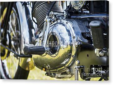 1950 Hrd Vincent Series B Meteor Abstract Canvas Print by Tim Gainey