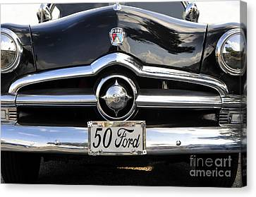 1950s Ford Canvas Print by David Lee Thompson