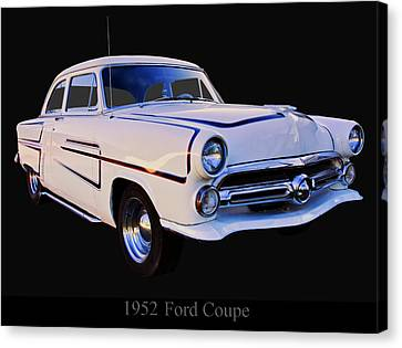 1952 Ford Mainline Coupe Canvas Print by Chris Flees