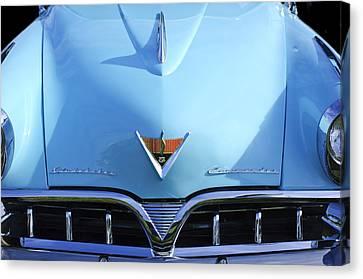 1953 Studebaker Emblem Canvas Print by Jill Reger