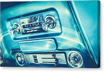 1955 Radio Canvas Print by Alisha Jurgens