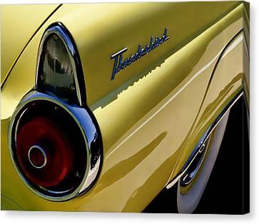 1955 T-bird Tail   Canvas Print by Douglas Pittman
