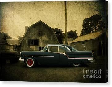 1957 Oldsmobile Canvas Print by Joel Witmeyer