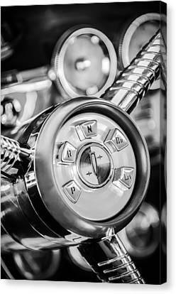 1958 Edsel Ranger Push Button Transmission 2 Canvas Print by Jill Reger