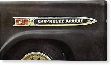 1959 Chevy Apache Canvas Print by Scott Norris