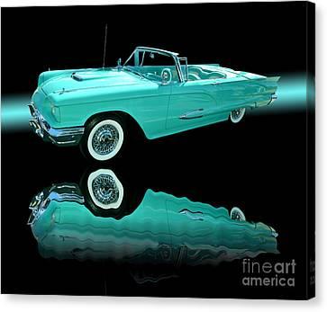 1959 Ford Thunderbird Canvas Print by Jim Carrell