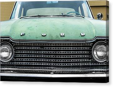 1960 Ford Fairlane Canvas Print by Jim Hughes