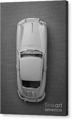 1961 Porsche 356 B Coupe Canvas Print by Edward Fielding