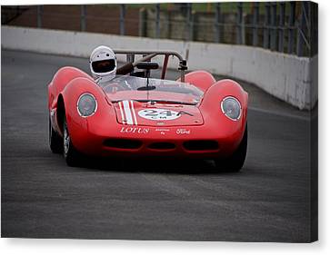 1964 Lotus Type 30 Fia Racecar Canvas Print by Dave Koontz
