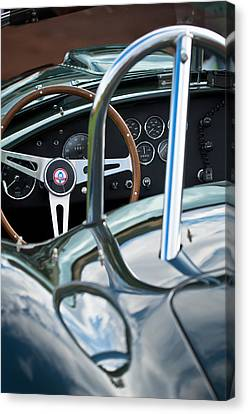 1966 Shelby 427 Cobra Canvas Print by Jill Reger