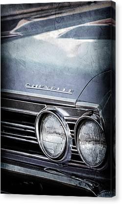 1967 Chevrolet Chevelle Ss Super Sport Emblem -0413ac Canvas Print by Jill Reger