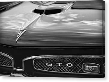 1967 Pontiac Gto Canvas Print by Gordon Dean II