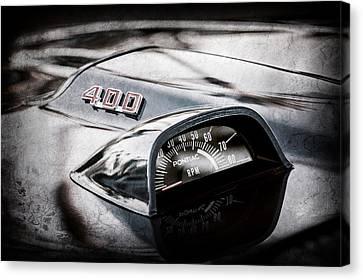 1969 Pontiac 400 Firebird Convertible Guage -1105ac Canvas Print by Jill Reger