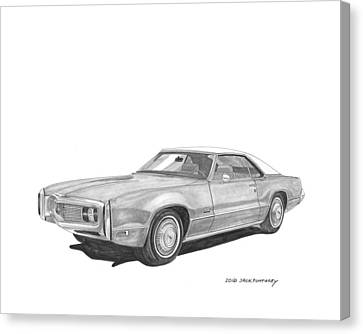 1970 Oldsmobile Tornado  Canvas Print by Jack Pumphrey