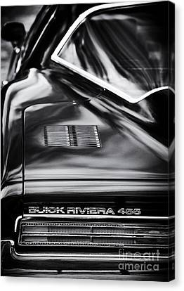 1971 Buick Riviera 455 Canvas Print by Tim Gainey
