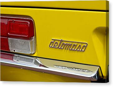 1971 Detomaso Pantera Taillight Canvas Print by Jill Reger