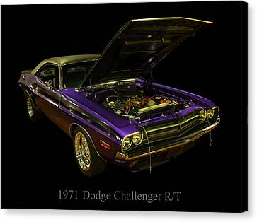1971 Dodge Challenger Canvas Print by Chris Flees