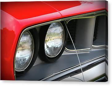 1971 Plymouth Barracuda Cuda Red  Canvas Print by Gordon Dean II