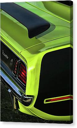 1971 Plymouth Hemicuda Hemi Cuda Barracuda Canvas Print by Gordon Dean II