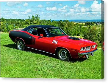 1971 Plymouth Canvas Print by Performance Image