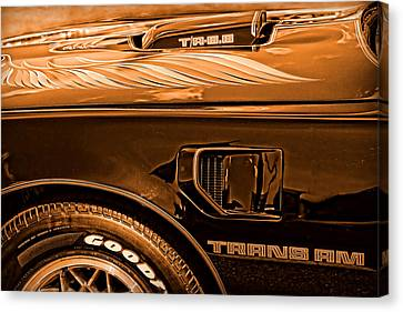 1980 Pontiac Trans Am Canvas Print by Gordon Dean II