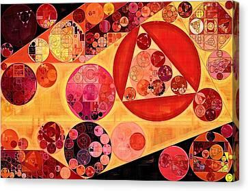 Abstract Painting - Bulgarian Rose Canvas Print by Vitaliy Gladkiy