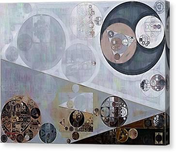 Abstract Painting - Lavender Gray Canvas Print by Vitaliy Gladkiy