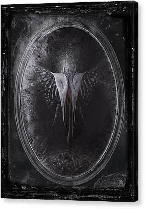 Alpha Canvas Print by Victor Slepushkin