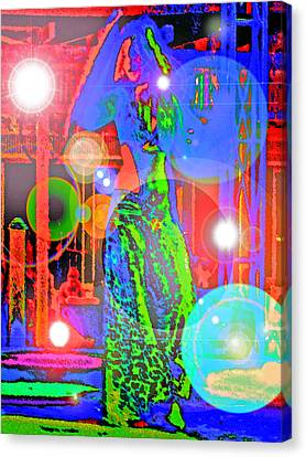 Belly Dance Canvas Print by Andy Za