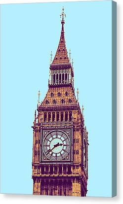 Big Ben Tower, London  Canvas Print by Asar Studios