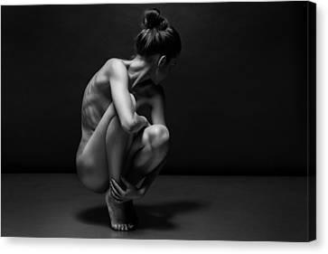 Bodyscape Canvas Print by Anton Belovodchenko