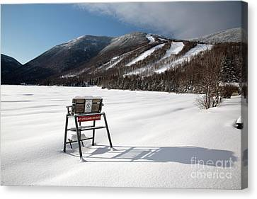 Cannon Mountain - White Mountains New Hampshire Usa Canvas Print by Erin Paul Donovan