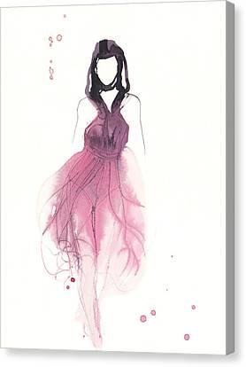 Catwalk Canvas Print by Toril Baekmark